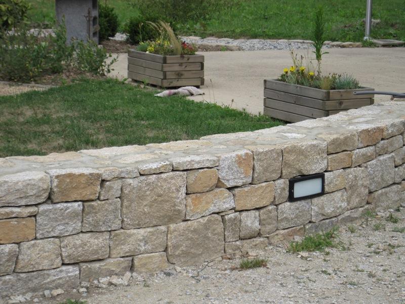 Realisation muret for Habillage mur cloture