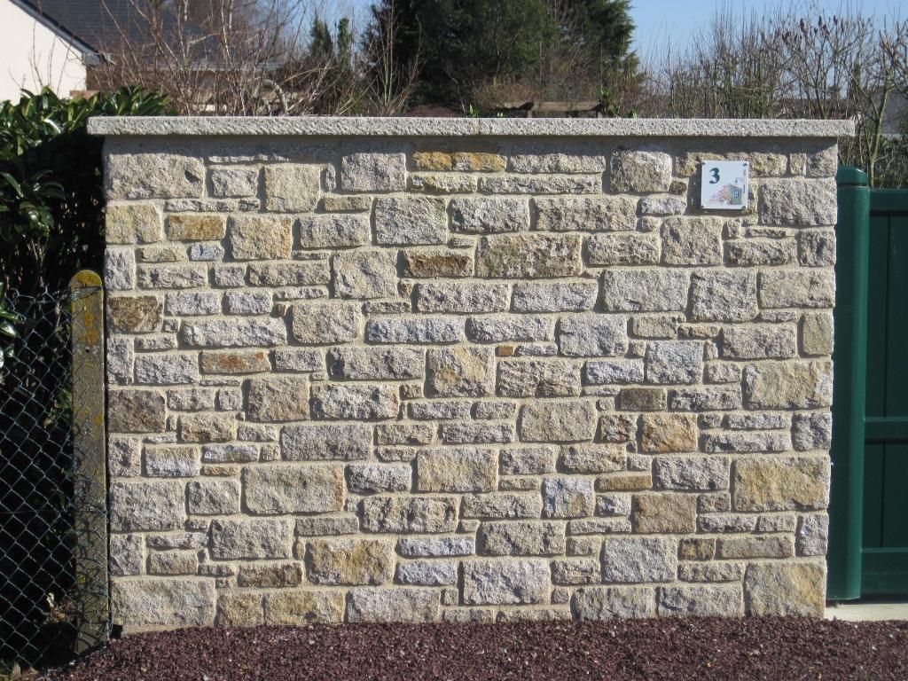 Realisation muret for Muret exterieur
